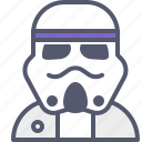knight, soldier, space, starwars, trooper icon