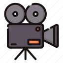 camera, cinema, entertaiment, movie, video icon