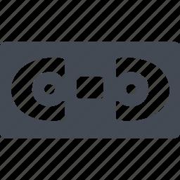 cassette, cinema, record, video icon