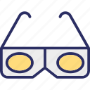 eyewear, glasses, stereo glasses, stereoscopic icon