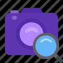 camera, cinema, identification icon