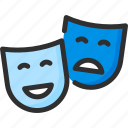 cinema, mask, theatre
