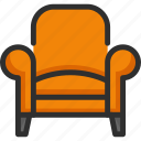 armchair, chair, cinema, place, seat