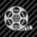 cinema, film, film strip, filmstrip, movie, movie reel, tape icon
