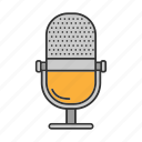 audio, broadcasting., microphone, music, radio, record, sound