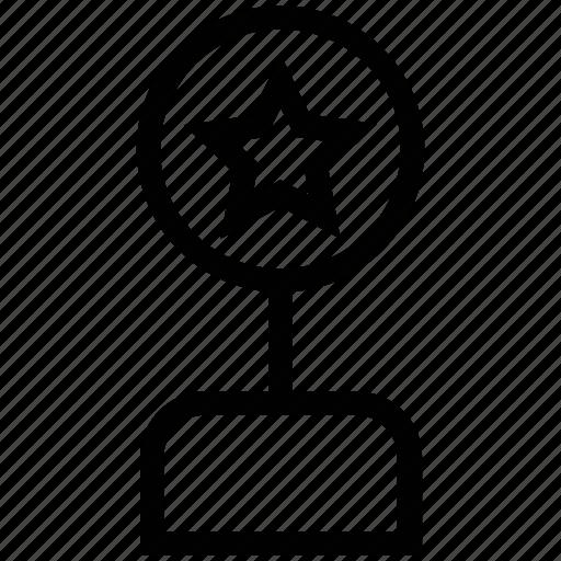 award, cinema award, film award, media award icon