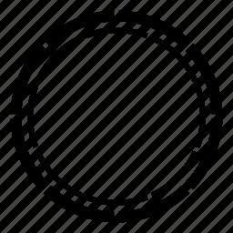 badge, circle, circle badge, line icon