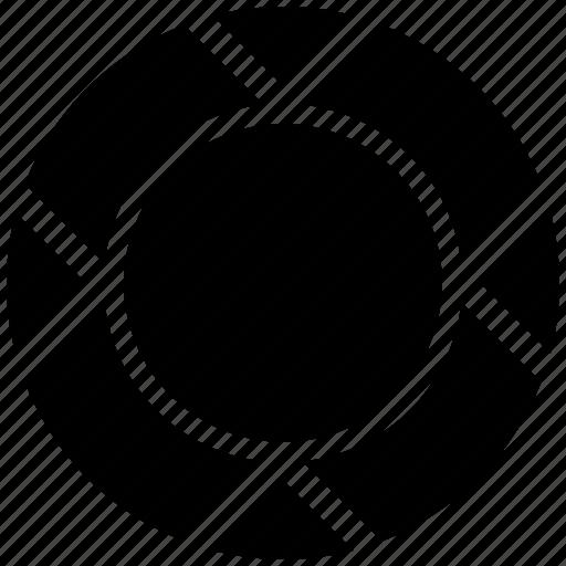 badge, circle, circle badge icon