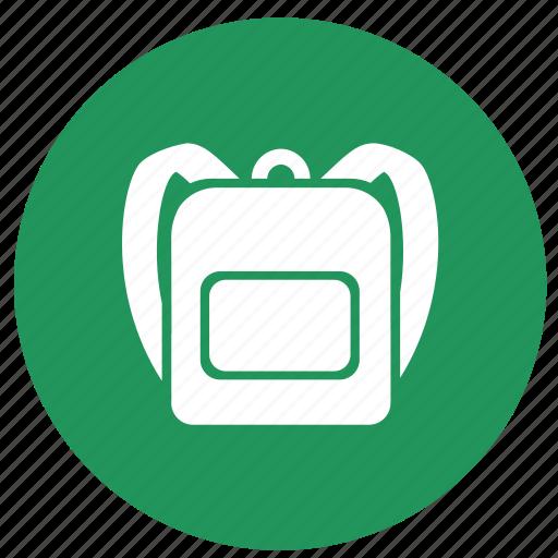 backpack, bag, camping, education, ransel, school bag icon