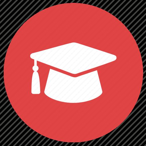caps, college, education, graduate, hat, toga, toga hat icon