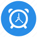 alarm, alarm clock, clock, education, time icon