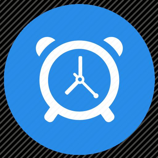 alarm, alarm clock, clock, education, time icon