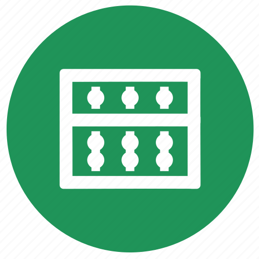 abacus, education, math, mathematics icon