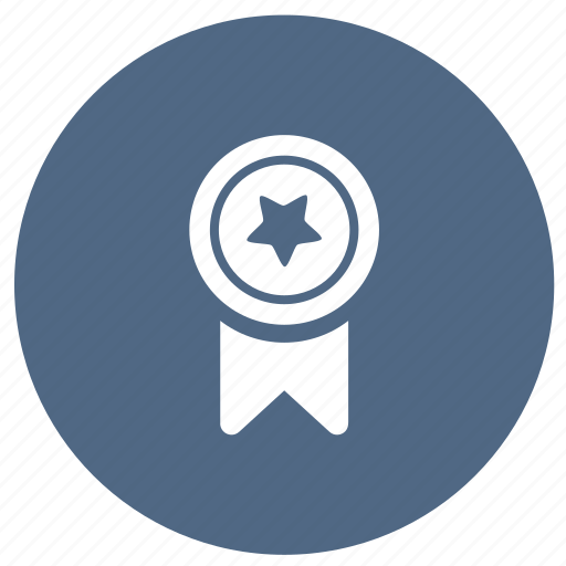 achievement, appreciation, award, education, medal icon