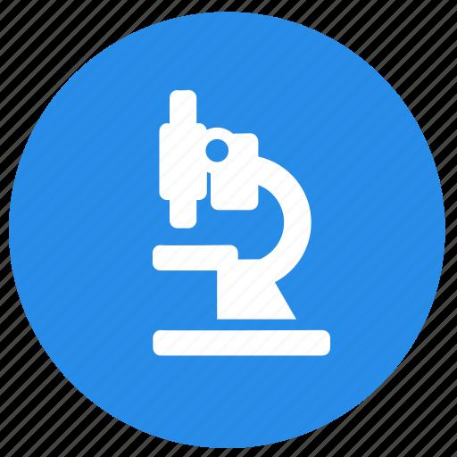 education, lab, laboratory, microscope, science icon