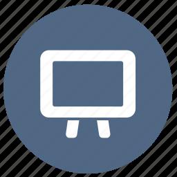 blackboard, board, education, whiteboard icon