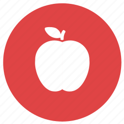 apple, diet, education, food, fruit, healthy food icon