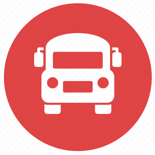 bus, car, education, school bus, transportation icon