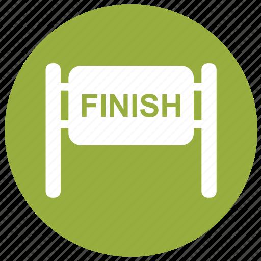 f1, finish, finish line, finish race, goal icon