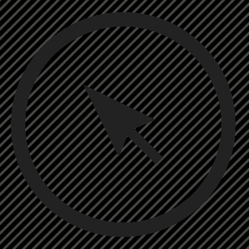 click, click and collect, cursor, select icon