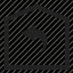 back, home, refresh, reload, reply, return, undo icon