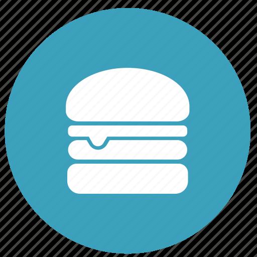 burger, food, hamburger, junk food, restaurant icon