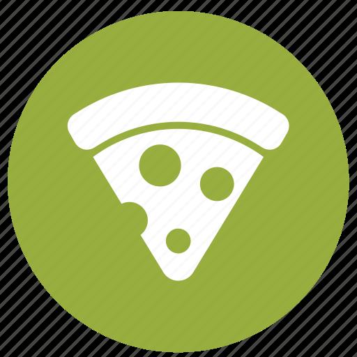 food, junk food, pizza, pizza slice, restaurant icon