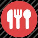 cutlery, dinner, eat, fork, knive, restaurant