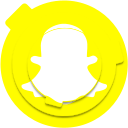 logo, media, network, snap, snapchat, social, socialmedia icon