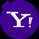 yahoo, media, social, yahoo!, communication, network, yahoo logo
