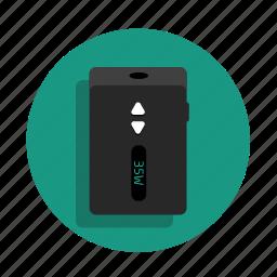 atomizer, clearomizer, electronic cigarette, mod, smoke, vaping, vapor, vaporizer icon