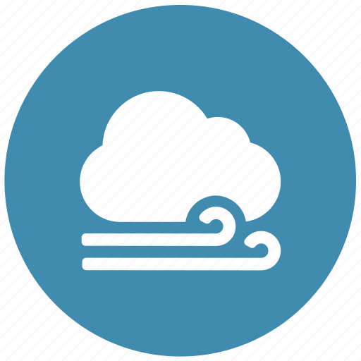 airy, draughty, forecast, weather, windy icon