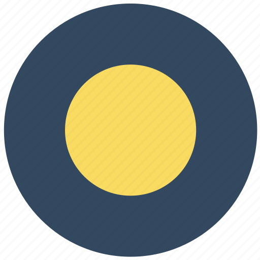 forecast, full moon, moon, night, weather icon