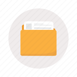 color, folder, profile, tabs icon