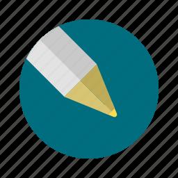 circle, pen icon
