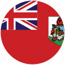 bermuda, bermuda's circled flag, bermuda's flag, flag of bermuda icon
