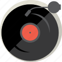 audio, disc, music, play, record, sound, vinyl icon
