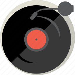 audio, disc, music, play, record, sound, vinyl icon