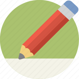 draw, edit, page, paper, pencil, write icon