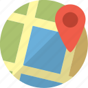 direction, geo, gps, location, map, marker, navigate, navigation, pin, pointer, tag icon