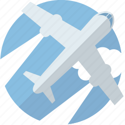 airplane, delivery, plane, shipping, traffic, transport, transportation, travel icon