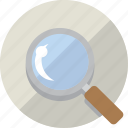 find, magnify, magnifying glass, search, zoom icon