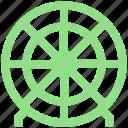 bulls eye, circus, dartboard, disc, goal, target icon