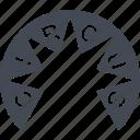 board, circus, info, signboard icon