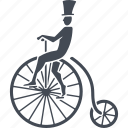 bike, circus, cycling, transport icon