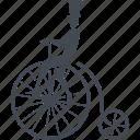 circus, bike, cycling, transport