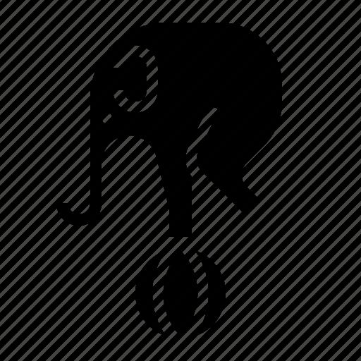 animal, circus, elephant icon
