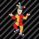 joker, jester, wizard, clown, circus, character