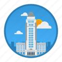 big city, city, los angeles, place, usa, world, world city icon