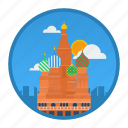 big city, city, moscow, place, population, russia, world icon